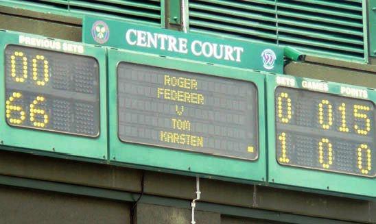 Tom - Federer Wimbledon 2009
